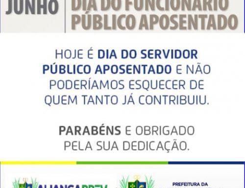 Dia do Funcionário Público Aposentado